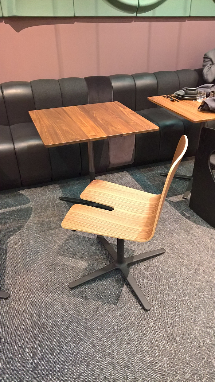 Gap Chair by Osko+Deichmann for Blå Station, as seen at Stockholm Furniture and Light Fair 2018