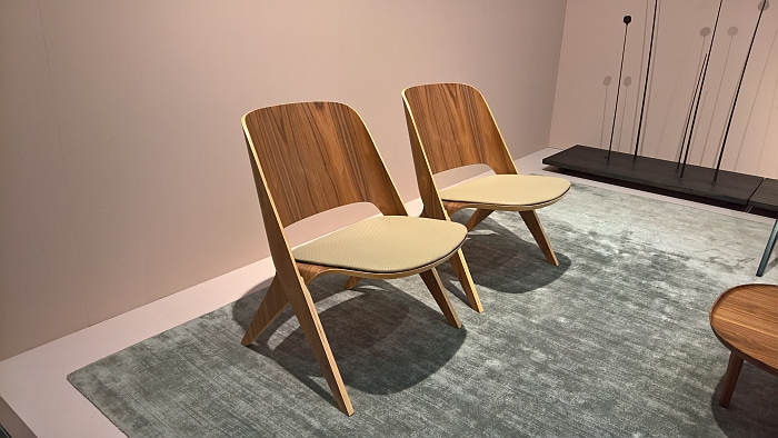 Lavitta Lounge Chair by Poiat Studio, as seen at Stockholm Furniture and Light Fair 2018
