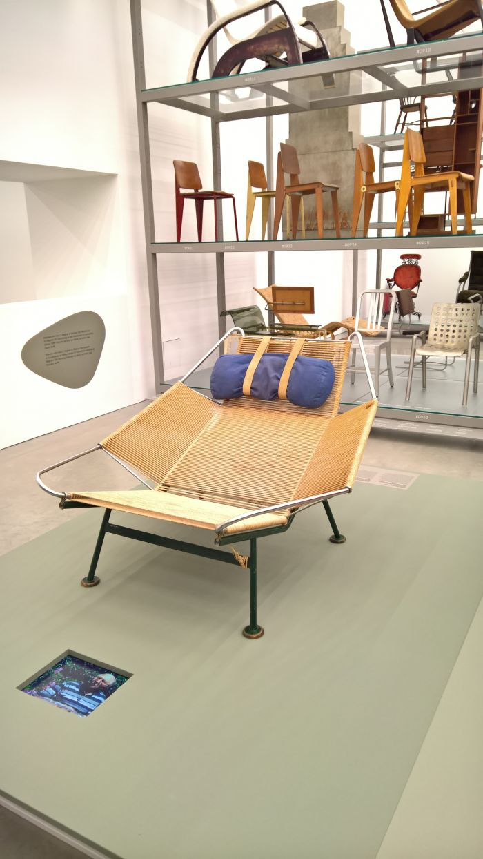 Flag Halyard Chair for Getama, as seen at Hans J. Wegner: Designing Danish Modern. Vitra Design Museum Schaudepot