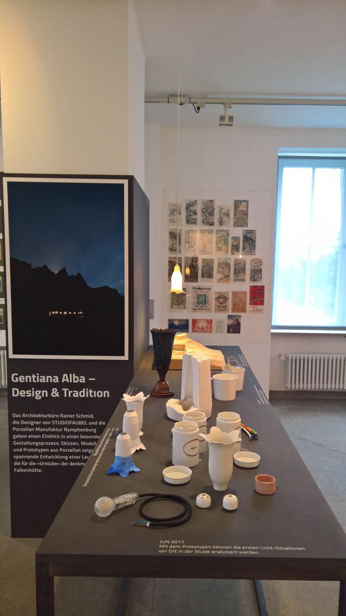 Gentiana Alba - Tradition und Design, Alpines Museum Munich