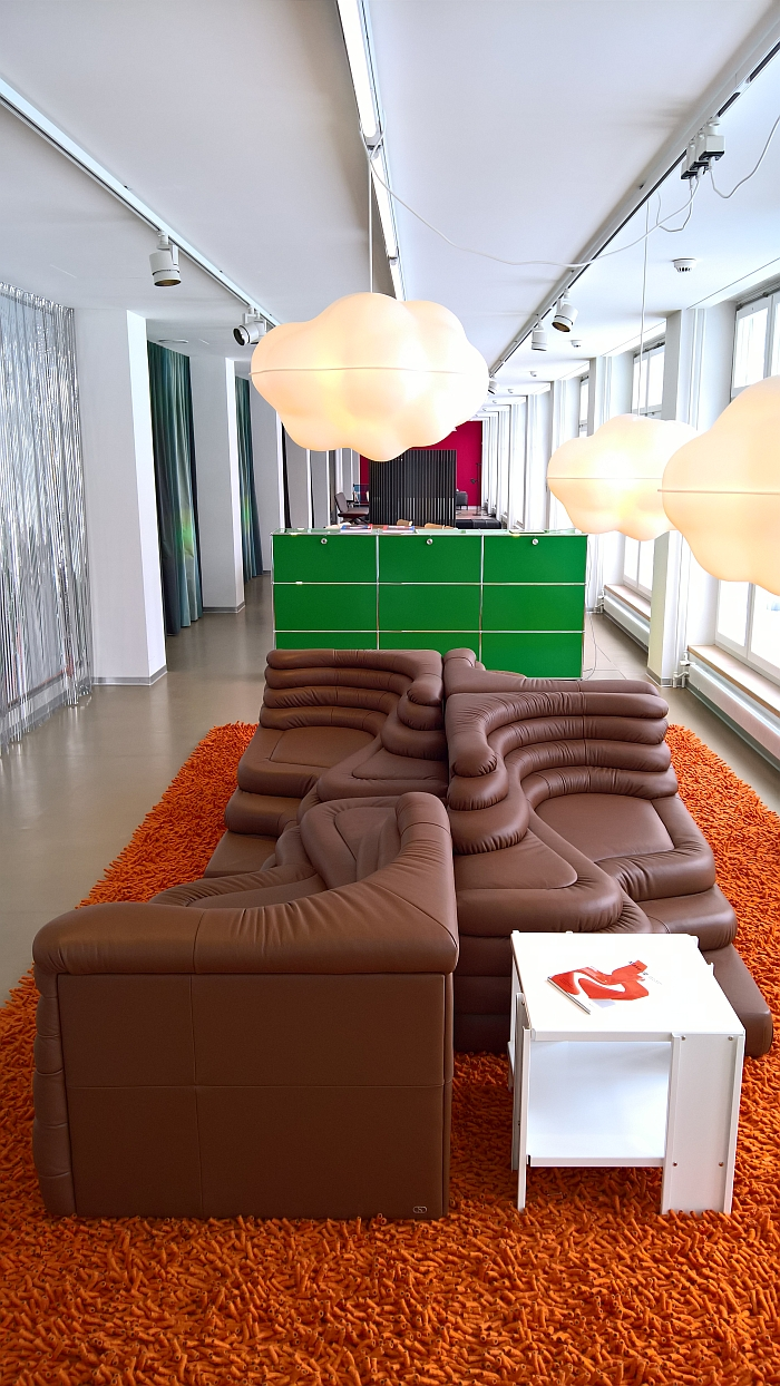 Terazza sofa by Ubald Klug for De Sede, as seen at Swiss Design Lounge, Museum für Gestaltung Zürich