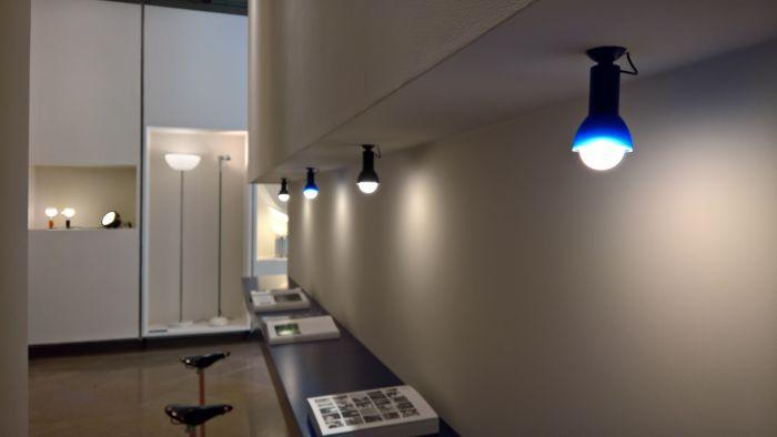 Ventosa by Achille & Pier Giacomo Castiglioni for Flos, as seen at Milan Design Week 2018