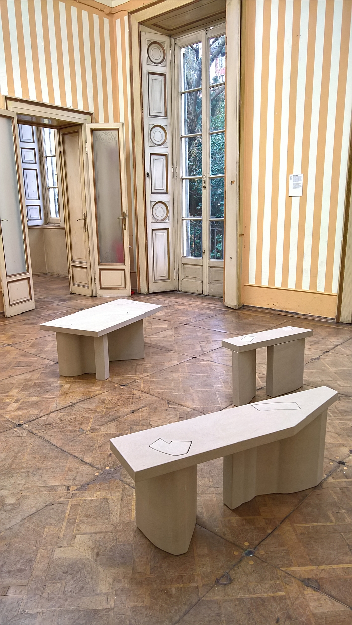 Unsighted Tables by Bahraini Danish, Milan Design Week 2018