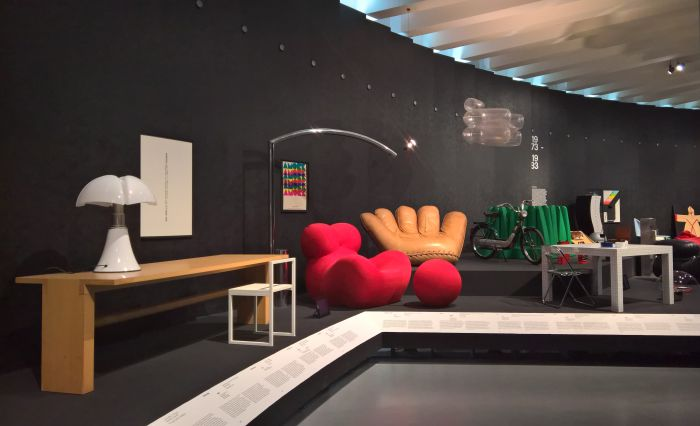 Getting poppy @ Storie. Il Design Italiano, Triennale Design Museum, Milan