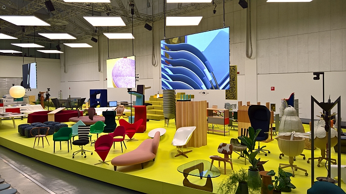 Vitra -Typecasting, as seen at Milan Design Week 2018