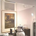 Coffee pot, milk jug and sugar bowl for Kaiser's Berlin and Behrens poster for the 1914 Werkbund exhibition in Cologne, as seen at Peter Behrens. #all-rounder, the Museum für Angewandte Kunst Cologne