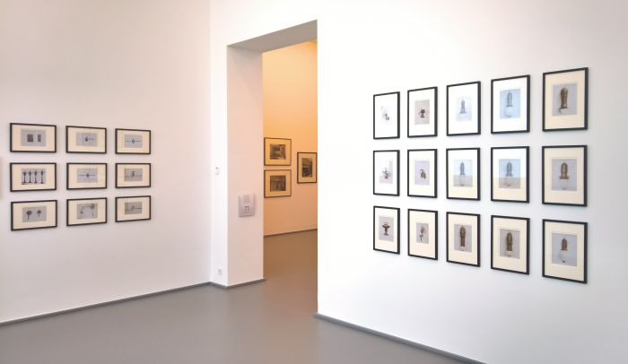 Photographs of Peter Behrens' industrial design for AEG, as seen at Peter Behrens. The Practical and the Ideal, the Kaiser Wilhelm Museum Krefeld