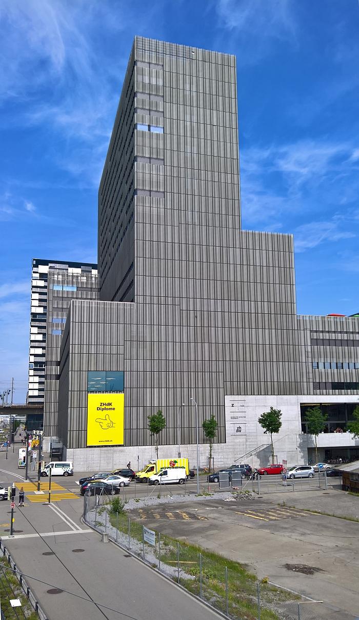 Zürcher Hochschule der Künste, Toni-Areal, Zürich.
