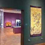 A Batik tapestry Agathe Wegerif-Gravestein, as seen at Art Nouveau in Nederland, The Gemeentemuseum Den Haag