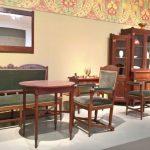 Furniture by Henrik Berlage for t' Binnenhuis, as seen at Art Nouveau in Nederland, The Gemeentemuseum Den Haag