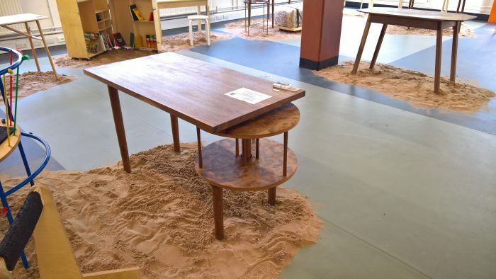 Lazy Desk by Barnaby Lewis, as seen at Cass London Summer Show 2018