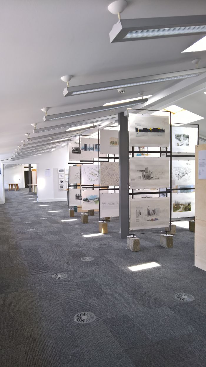 Graduate Architecture Studio 10, as seen at Cass London Summer Show 2018