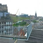 We've said it before, but if the view from Edinburgh College of Art don't inspire you.....