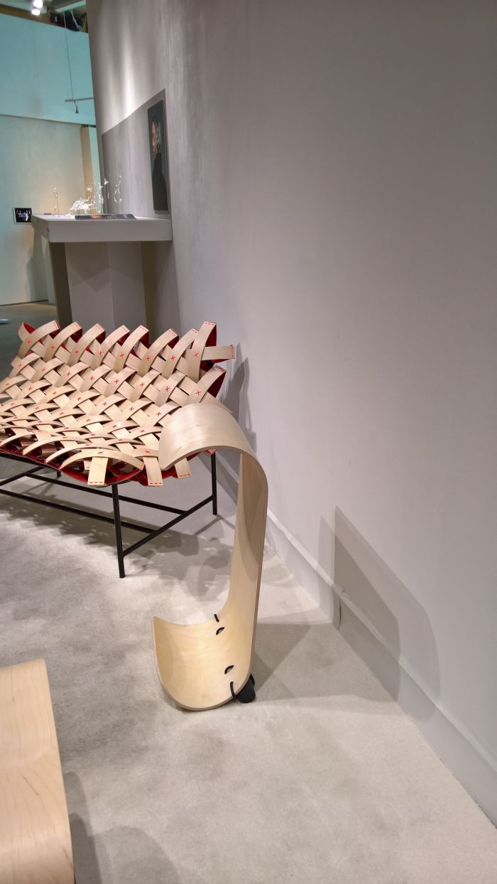 Mowo - Move with wood by Lisa Stolz, as seen at Degree Show 2018, Central Saint Martins, London