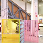 Room divider by Emily Atherton, as seen at Manchester School of Art Degree Show 2018