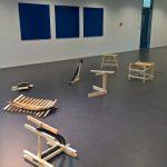 Works by Paul Kröger from the class Experimental Design, as seen at the Folkwang Universität der Künste Essen 2018 Rundgang