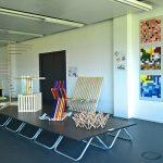 The results of the class Objekt/Raum/Farbe, as seen at the Folkwang Universität der Künste Essen 2018 Rundgang