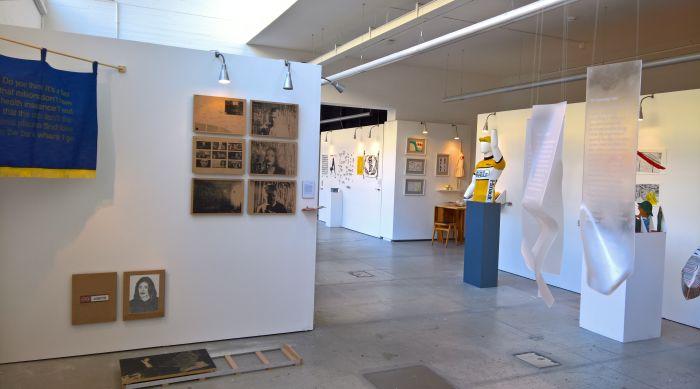 Communication Design showcase, as seen at Glasgow School of Art Degree Show 2018