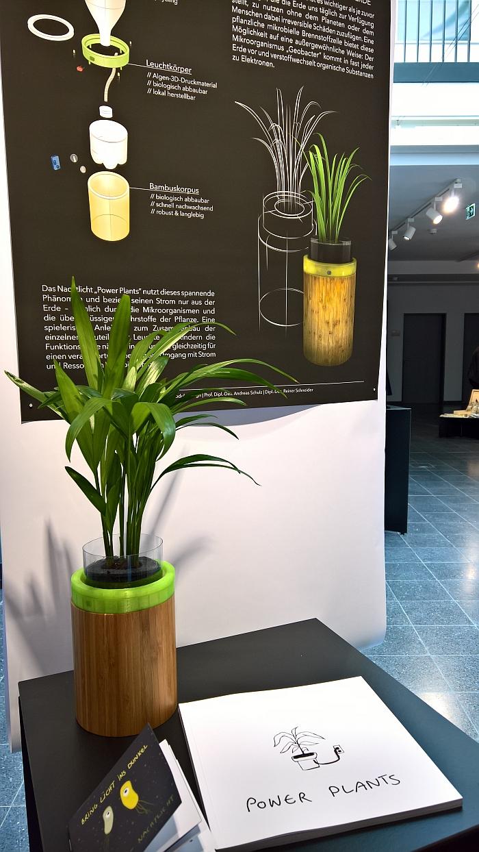 Power Plants by Miriam Lüning, as seen at the 2018 Graduation Exhibiton, Hochschule für angewandte Wissenschaft und Kunst, Hildesheim