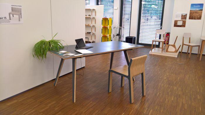 Table 9 by Morten Hemsteg, as seen at Finale 2018, Akademie für Gestaltung Münster