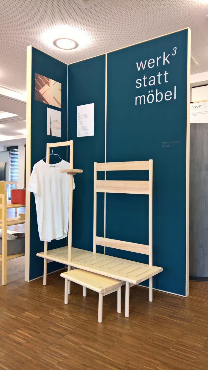 Stummer Diener by Werkstattmöbel, as seen at Finale 2018, Akademie für Gestaltung Münster