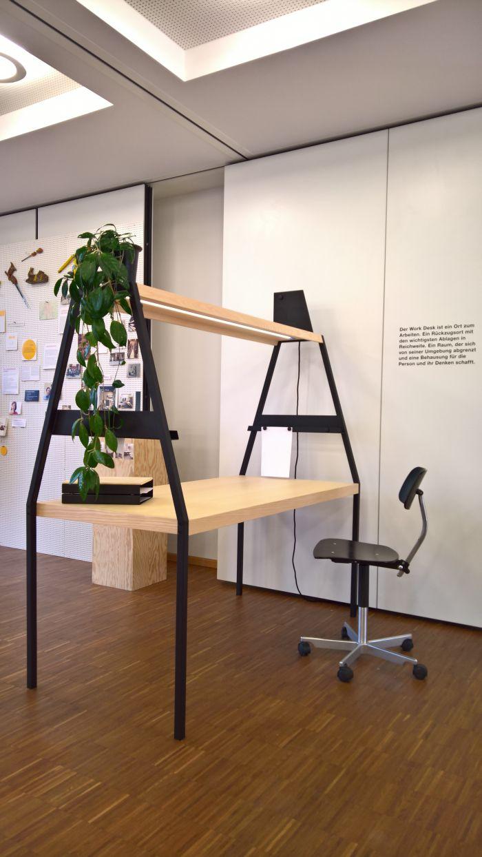 Work Desk by Julius Cober, as seen at Finale 2018, Akademie für Gestaltung Münster