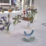 Flowers for Lunch by Luisa Hentschas seen at Hochschule für Gestaltung Karlsruhe Rundgang 2018