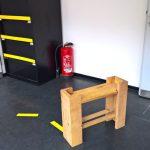 Stool by Jule Arden, part of Soft Skills/Hard Skills, as seen at KISDparcours 2018, Köln International School of Design