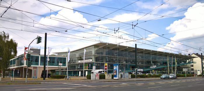 Lichtplatz Car Park (Hanielgarage), Düsseldorf by Paul Schneider-Esleben