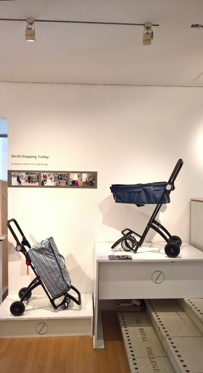 Zeroll Shopping Trolley by Megan Wang, as seen at the 2018 Royal College of Art London Graduate Show