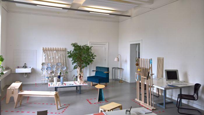 Presention of the project Analoge Produktion, as seen at Rundgang 2018, Universität der Künste Berlin