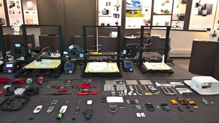 Presentation of the Industrial Product Design, IPD, as seen at 2018 Summer Semester Exhibition, FH Aachen