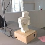 Oliver by Giwon Min, Mariya Kaplunenko Michael Mahle, realised in context of Toolbox II, as seen at Summaery 2018, Bauhaus University WeimarOliver by Giwon Min, Mariya Kaplunenko Michael Mahle, realised in context of Toolbox II, as seen at Summaery 2018, Bauhaus University Weimar