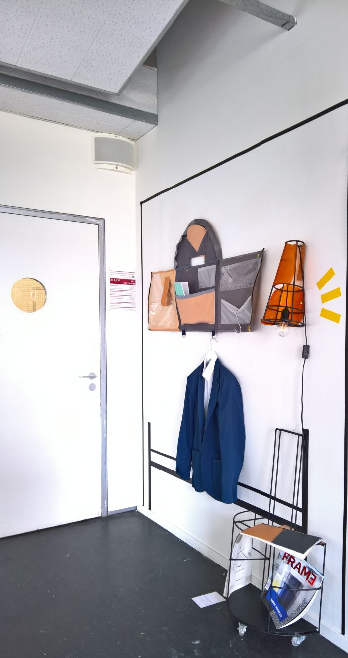 De Mobile Itinerate by Francesco Mottola, as seen at the Willem de Kooning Academy & Piet Zwart Institute Rotterdam Graduation Show 2018