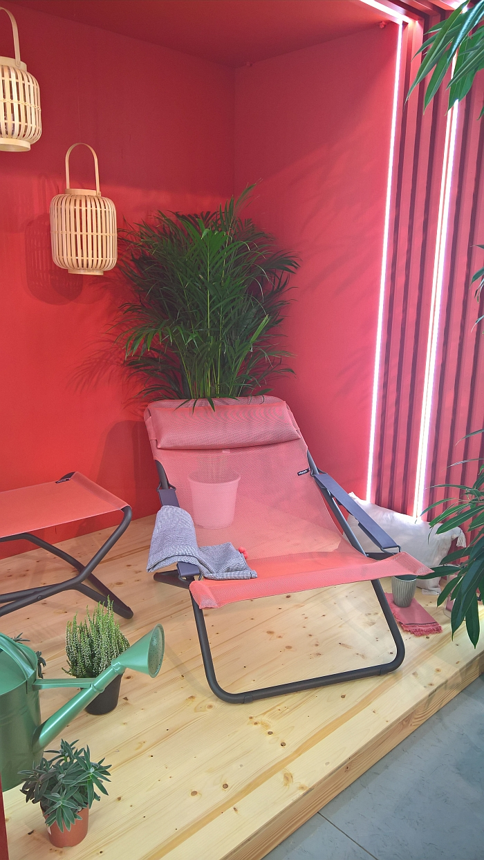 Lafuma transabed Sunlounger, as seen at spoga+gafa Cologne 2018