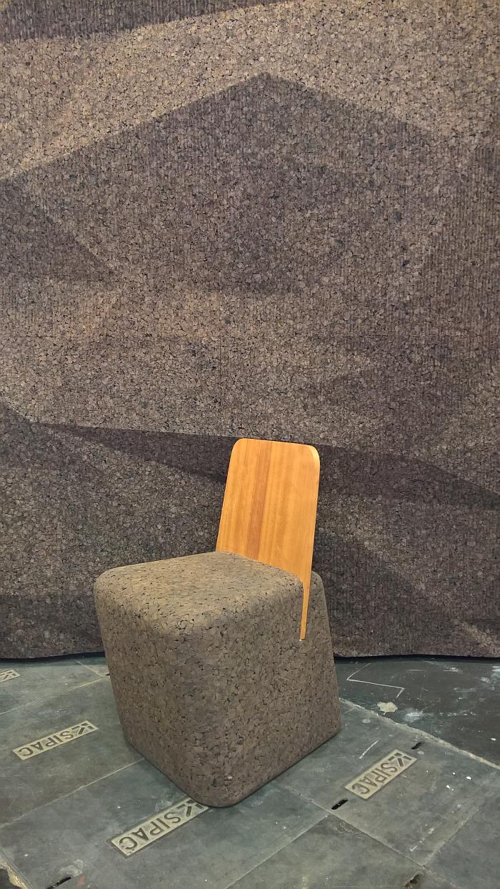 Cut Chair by Toni Grilo for Blackcork, as seen at Maison et Objet Paris Autumn 2018
