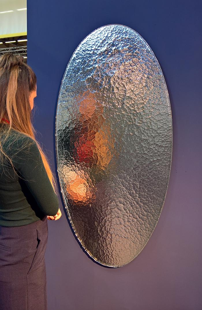 Design Impressionism Mirror by studio b severin, as seen at Maison et Objet Paris Autumn 2018
