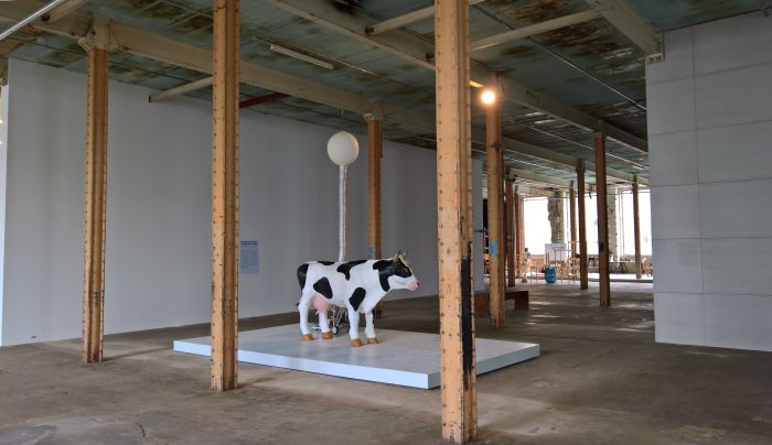 Cow&Co by Ottonie von Roeder Anastasia Eggers, as seen at New Urban Production, Halle 14, Leipzig