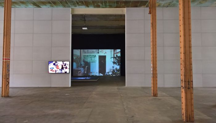 A film explaining the project Granby Workshop, as seen at New Urban Production, Halle 14, Leipzig