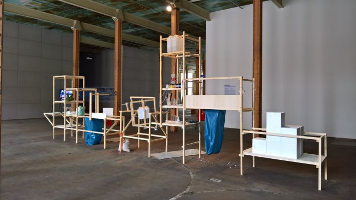 Line 011 Creative Factory/ UnPacking by Itay Ohaly, as seen at New Urban Production, Halle 14, Leipzig