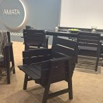 Usma lounge chair by Aalto+Aalto for Amata, as seen at spoga+gafa Cologne 2018