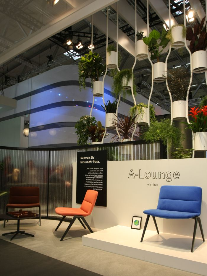 A-Lounge by Jehs+Laub for Brunner, as seen at Orgatec Cologne 2018