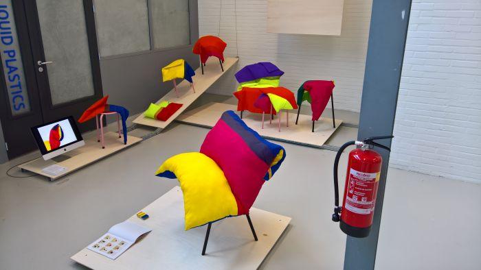 Color Masquerade by Ronja van den Berg, as seen at ArtEZ Academy of Art & Design Arnhem Liberty 2018