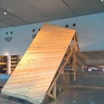 The Pinch by Olivier Ottevaer, John Lin & Hong Kong University students, part of Precarious Architecture & DesignFragilitas, La Boverie, as seen during Reciprocity Design Triennale Liege 2018