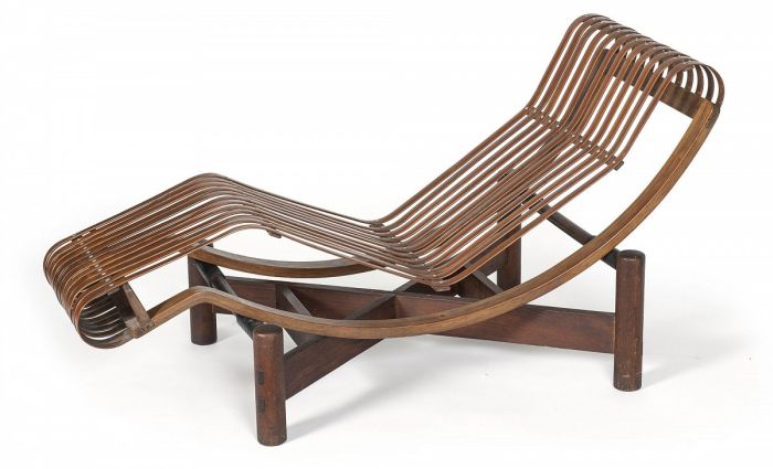 Bamboo chaise longue by Charlotte Perriand, ( 1940) (Photo © and courtesy MAD Paris/ Jean Tholance Adagp)
