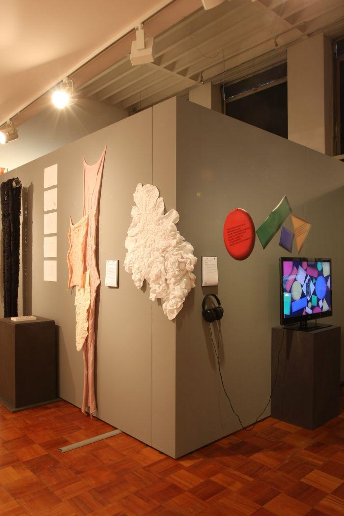 Peel by Lobke Beckfeld ( KISD) & Was ist mit mir los by Eugen Herber (KISD), as seen at Kölner Design Preis/Toby E. Rodes Award 2018 Exhibition, MAKK Cologne