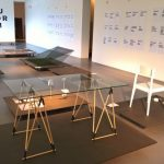 The table Izo by Hugo Duina, as seen at LuForm 6 - LuForm Meets RECIPROCITY, Ludwig Forum Aachen