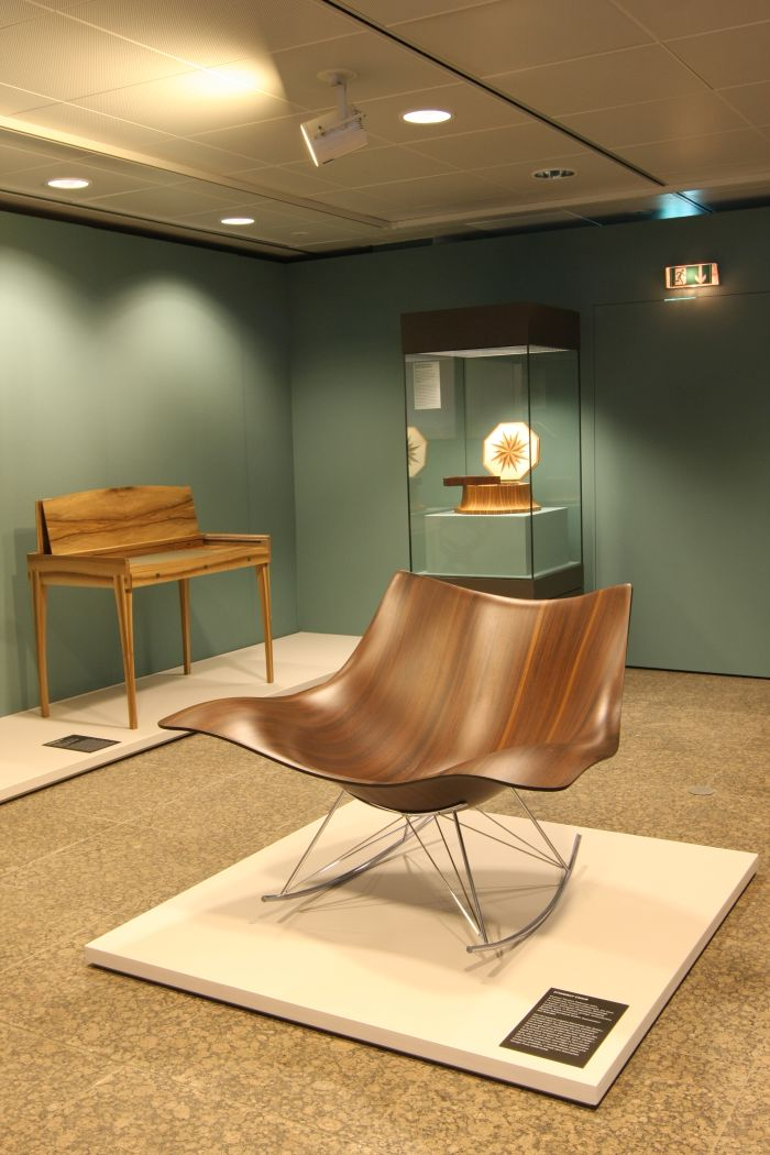 Stingray by Thomas Pedersen for Fredericia at Inside Out. Understanding the art of furniture making, the Kunstgewerbemuseum Berlin