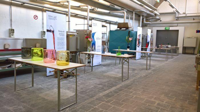 Results from the class Blow_Up!, as seen at the Hochschule Niederrhein designkrefeld werkschau 2018