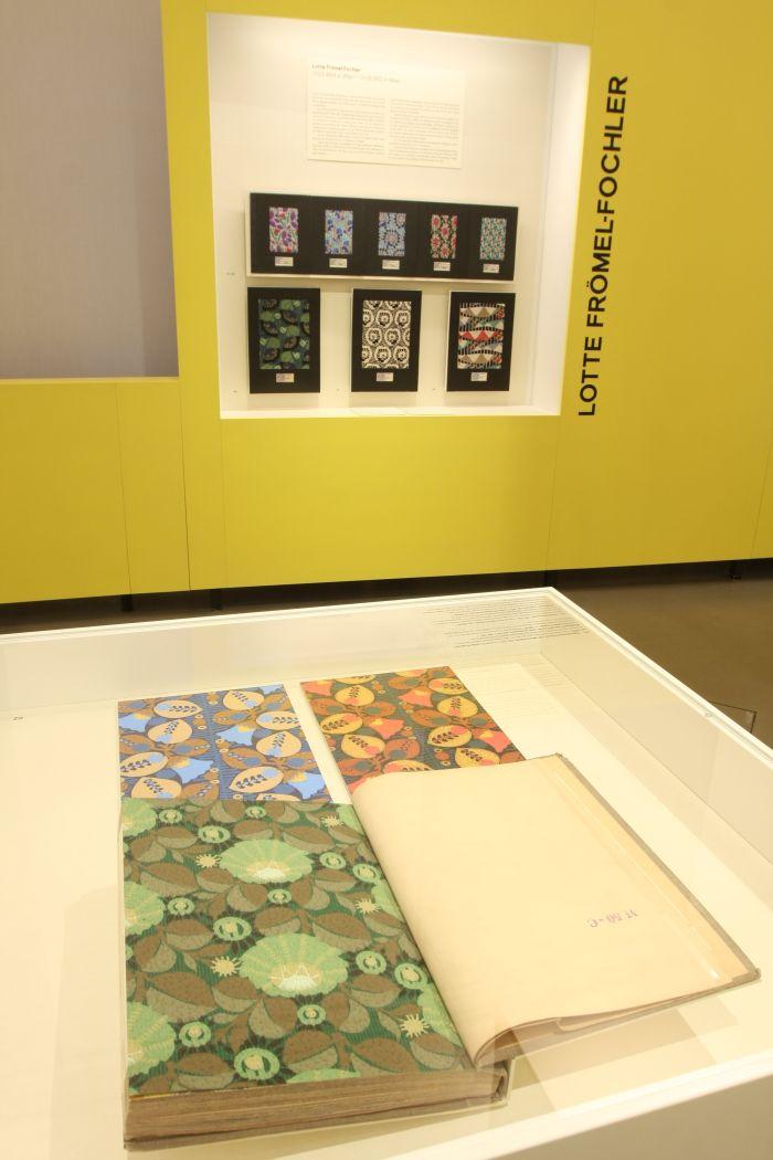 Works by Lotte Frömel-Fochler, as seen at Against Invisibility – Women Designers at the Deutsche Werkstätten Hellerau 1898 to 1938, Japanisches Palais Dresden